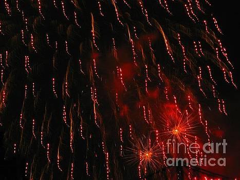 Australian Fireworks In Montreal 03 by Ausra Huntington nee Paulauskaite