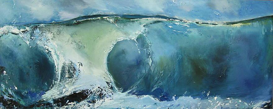 Australian Wave by Judy  Blundell