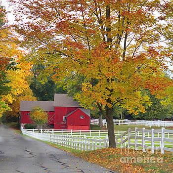 Autumn Acres by Marcel  J Goetz  Sr