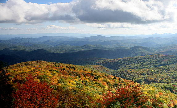 Autumn Along the Blue Ridge by Charles Shedd