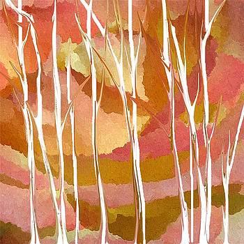 Autumn Aspens by Robynne Hardison