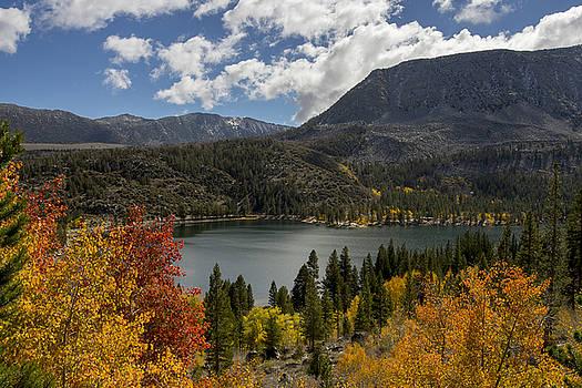 Autumn at Rock Creek Lake by Frank Lee Hawkins
