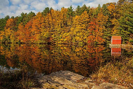 Karol  Livote - Autumn At The Lake