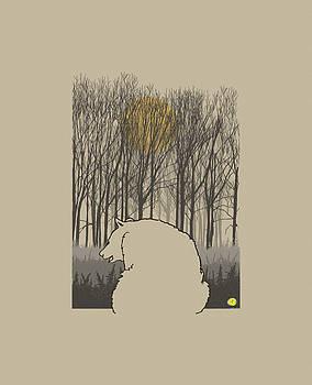 Autumn bear by Robert Breton