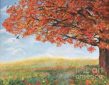 Autumn Bliss by Lucia Grilletto