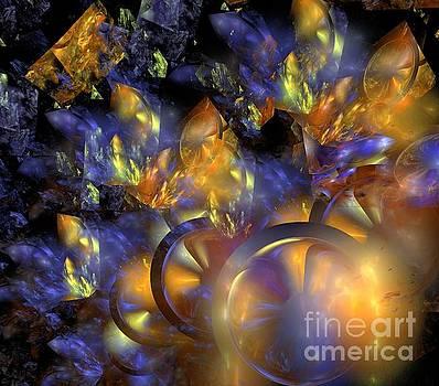 Autumn Blue Sun by Kim Sy Ok