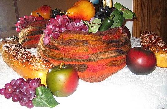 Autumn Bounty Still Life by Patricia Maxwell
