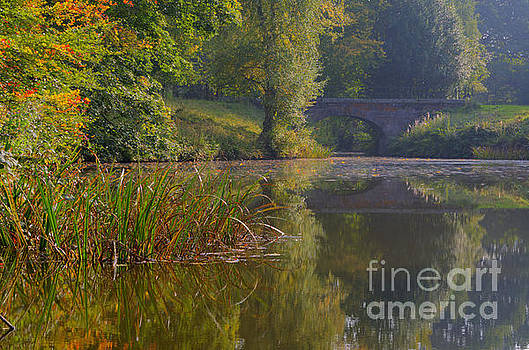 Autumn calm by Steev Stamford