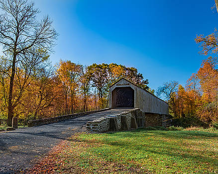 Autumn Crossing by Phil Abrams