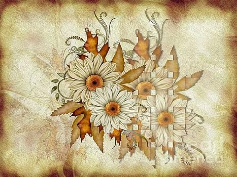 Autumn Daisys by Elaine Manley