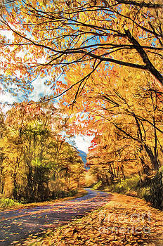 Dan Carmichael - Autumn Drive on the Blue Ridge Parkway AP