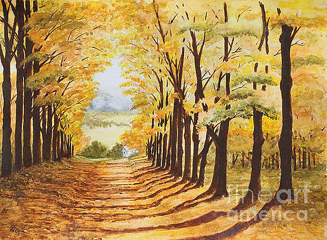 Autumn Evening by Shirley Miller