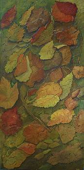 Autumn Falling by Monica Hebert