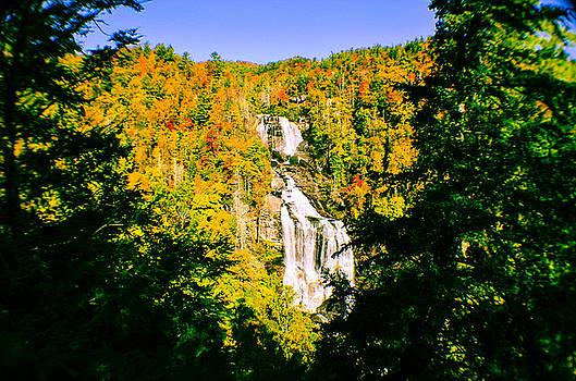Autumn Falls by Tom Zukauskas