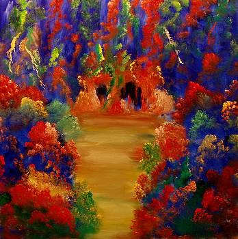 Autumn Garden by David Snider
