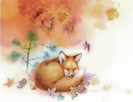 Autumn Gold Fox by Tracy Herrmann