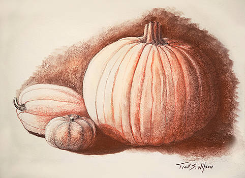 Frank Wilson - Autumn Harvest Drawing