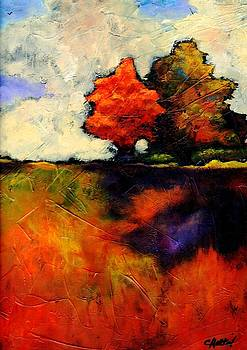 Autumn has its own Conversation by Charleen Martin