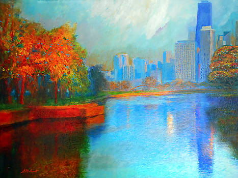 Autumn in Chicago by Michael Durst