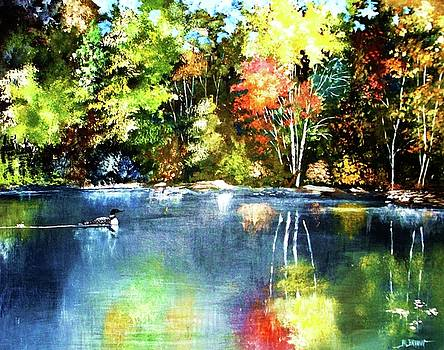 Autumn in Loon Country by Al Brown