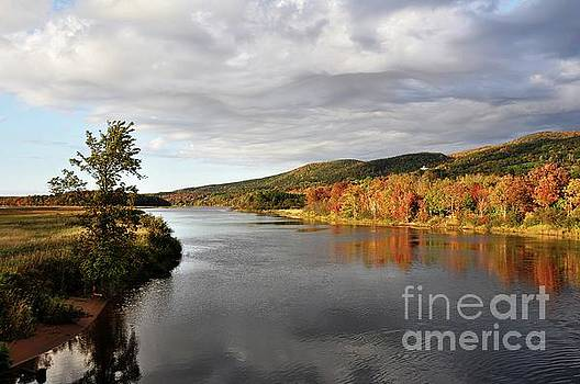 Autumn in Margaree Valley Cape Breton by Elaine Manley