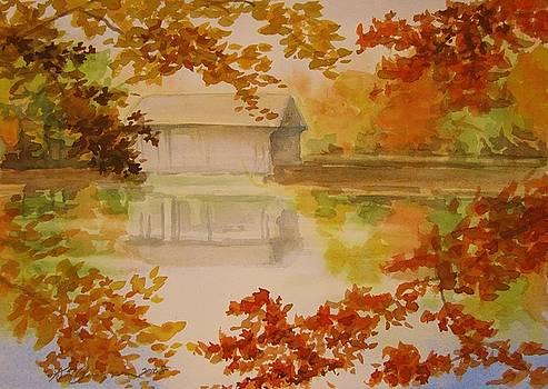 Autumn in Massachusetts by Kim Lucianovic