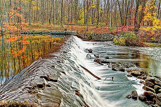 Autumn in Stanhope New Jersey by Geraldine Scull