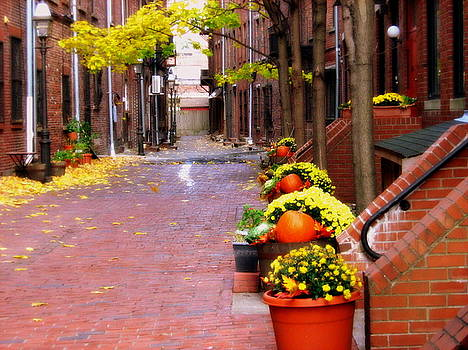 Autumn in the North End by Bruce Carpenter