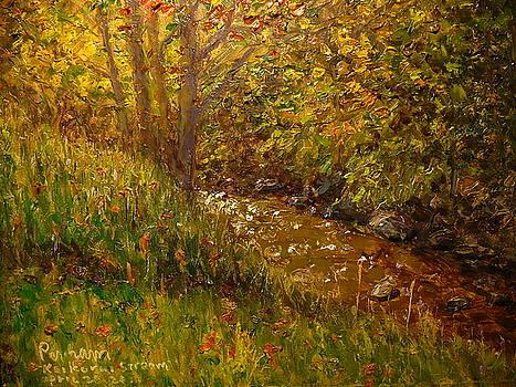 Terry Perham - Autumn Kaikorai Stream