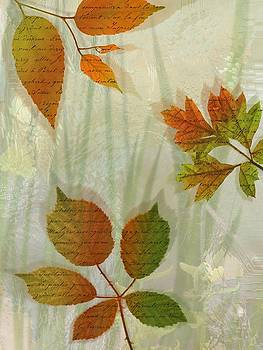 Autumn Leaves-2 by Nina Bradica