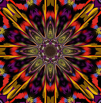 Autumn Mandala by Ester  Rogers