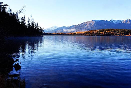 Larry Ricker - Autumn Morning on Pyramid Lake