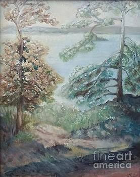 Autumn Morning Whiteshell by Laurel Anderson-McCallum