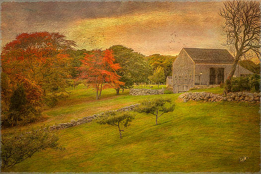 Autumn On The Farm by Michael Petrizzo