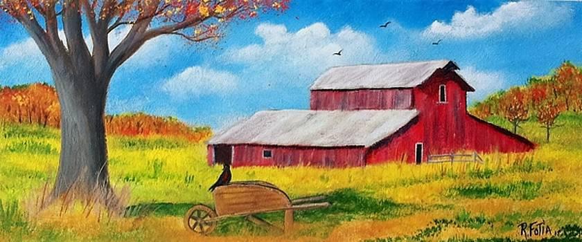 Autumn on the Farm by Rich Fotia