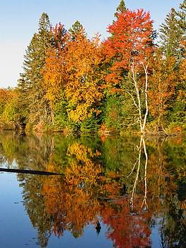 Autumn on the Flambeau by Lori Frisch