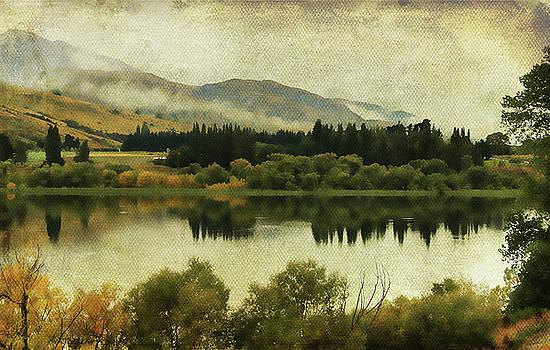 Autumn on the Lake by Margaret Hormann Bfa