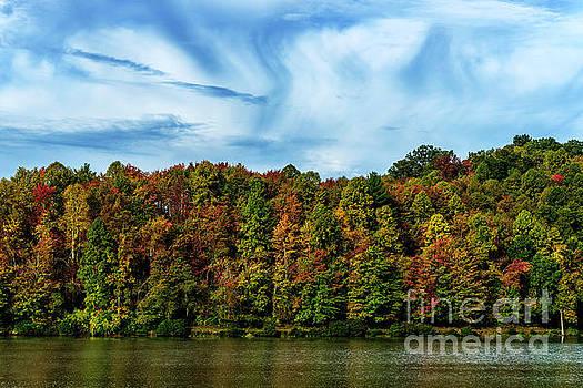 Autumn on the Lake by Thomas R Fletcher