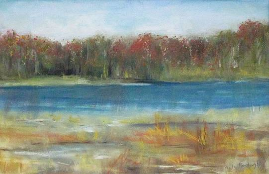 Autumn On The Maurice River by Paula Pagliughi