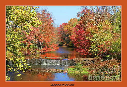 Autumn on the river by Marcel  J Goetz  Sr