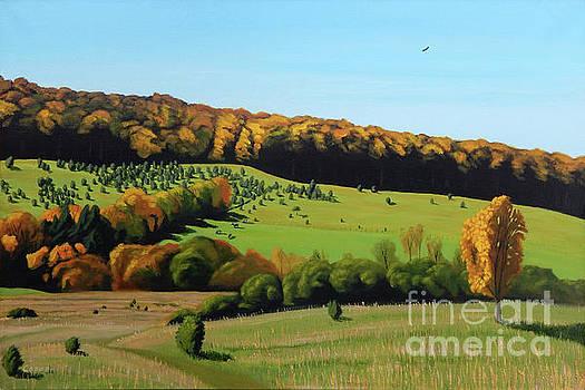 Autumn Pastoral by Robert Coppen