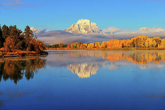Autumn Placid Reflections by Greg Norrell