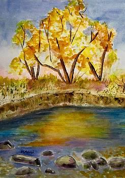Autumn Pond by Marita McVeigh