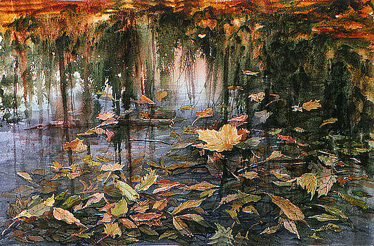 Autumn Pond by Maryann Boysen