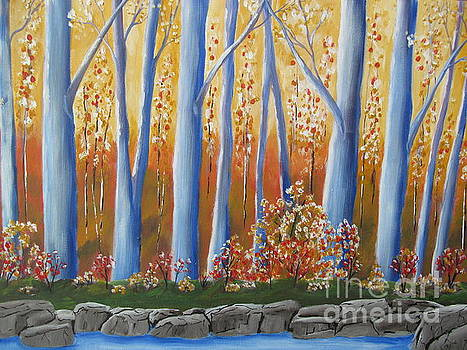 Autumn Reflections by Beverly Livingstone