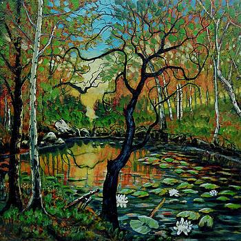 Autumn Reflections by Denis Grosjean