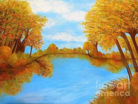 Autumn Reflections by Eloise Schneider