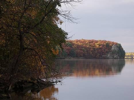 Autumn Scene by Anna Villarreal Garbis