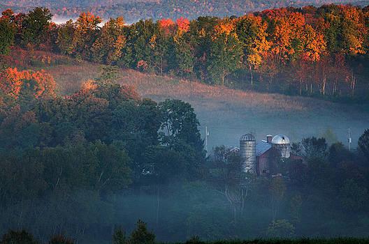 Thomas Schoeller - Autumn scenic - West Rupert Vermont