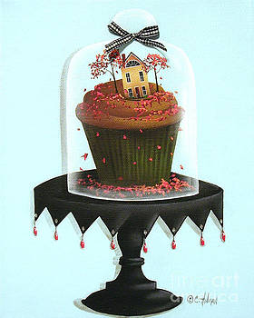 Autumn Spice Cupcake by Catherine Holman